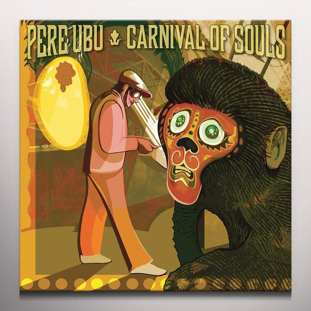 Pere Ubu CARNIVAL OF SOULS Vinyl Record - Gold Vinyl, Limited Edition