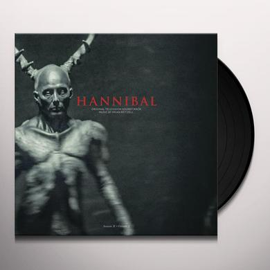 Brian Reitzell HANNIBAL: SEASON 2 - VOL 1 / O.S.T. Vinyl Record - Digital Download Included, Black Vinyl