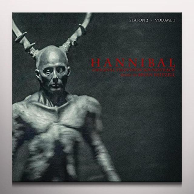 Brian Reitzell HANNIBAL: SEASON 2 - VOL 1 / O.S.T. Vinyl Record - Digital Download Included, Gray Vinyl