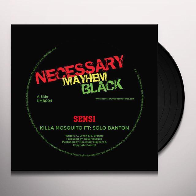 KILLA MOSQUITO SENSI Vinyl Record