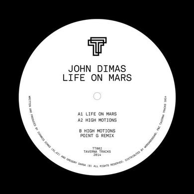 John Dimas LIFE ON MARS (POINT G REMIX) Vinyl Record