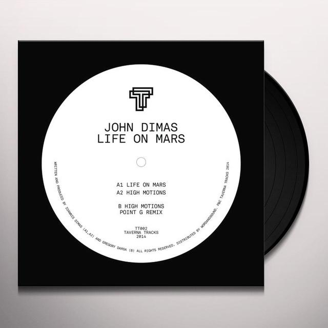 John Dimas LIFE ON MARS (POINT G REMIX) Vinyl Record