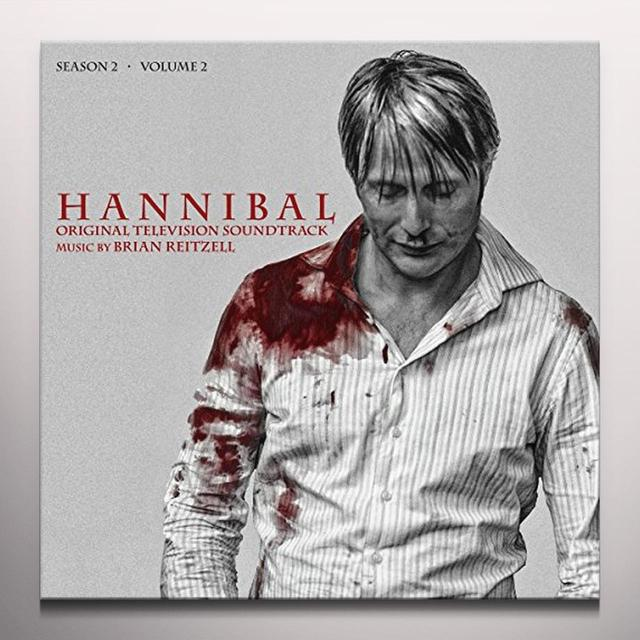Brian Reitzell HANNIBAL: SEASON 2 - VOL 2 / O.S.T. Vinyl Record - Digital Download Included, Colored Vinyl