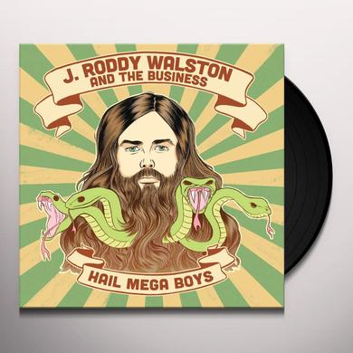 J Roddy Walston & The Business HAIL MEGABOYS Vinyl Record