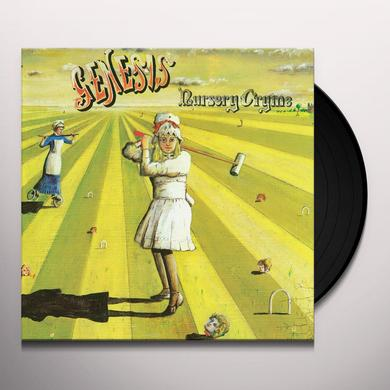 Genesis NURSERY CRYME Vinyl Record - 180 Gram Pressing