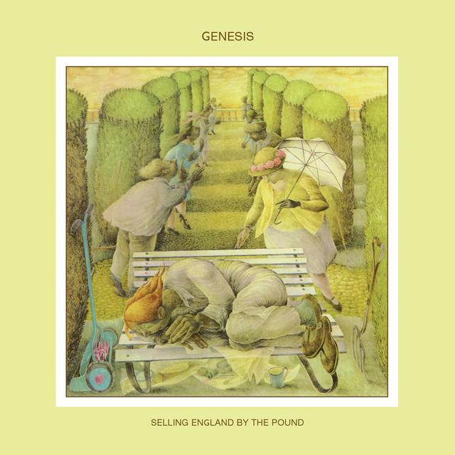 Genesis SELLING ENGLAND BY THE POUND Vinyl Record