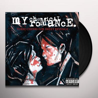 My Chemical Romance THREE CHEERS FOR SWEET REVENGE Vinyl Record
