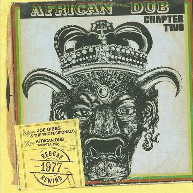 Joe Gibbs AFRICAN DUB 2 Vinyl Record