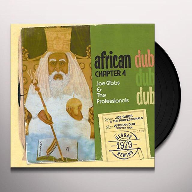 Joe Gibbs AFRICAN DUB 4 Vinyl Record