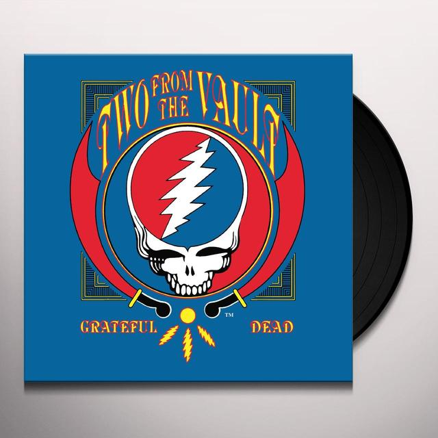 Grateful Dead TWO FROM THE VAULT Vinyl Record - Gatefold Sleeve, Remastered