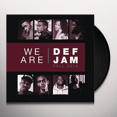 WE ARE DEF JAM: FALL 2014 / VARIOUS Vinyl Record