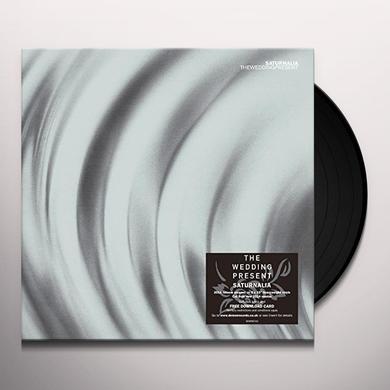 The Wedding Present SATURNALIA Vinyl Record - UK Import