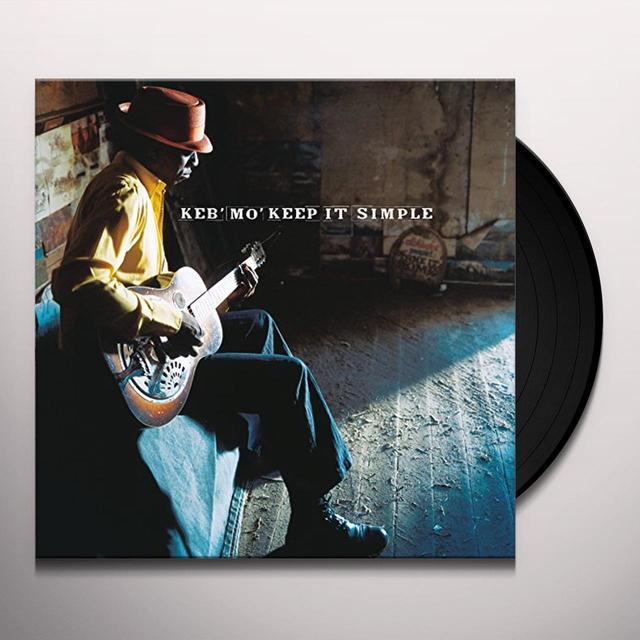 Keb' Mo' KEEP IT SIMPLE Vinyl Record