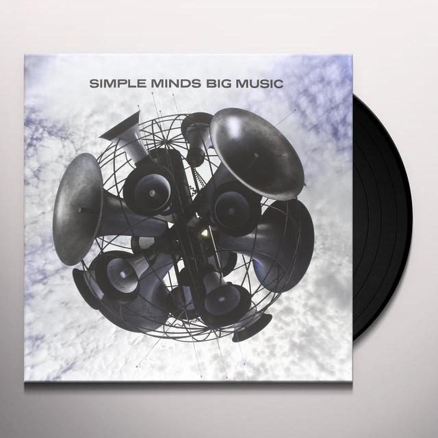 Simple Minds BIG MUSIC Vinyl Record - Holland Import
