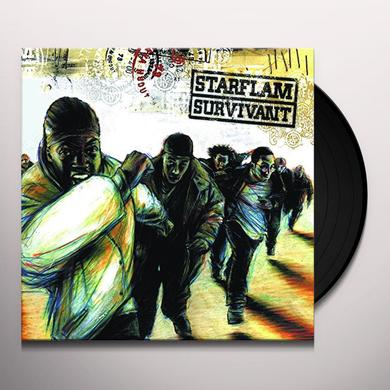 STARFLAM SURVIVANT Vinyl Record - Holland Import