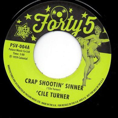 Birdie Green CRAP SHOOTIN' SINNER / TREBLIN' Vinyl Record