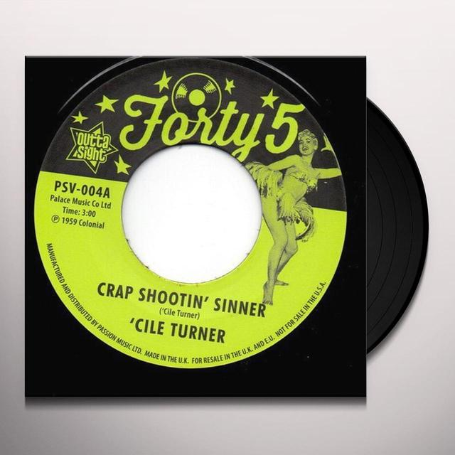 Birdie Green CRAP SHOOTIN' SINNER / TREBLIN' Vinyl Record - UK Import