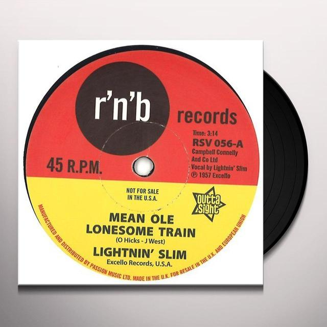 LITENIN' SLIM MEAN OLE LONESOME TRAIN / HAVE YOUR WAY Vinyl Record - UK Import