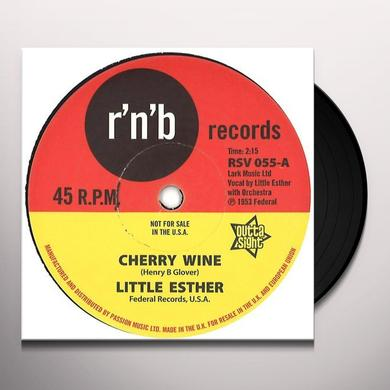 Little Esther CHERRY WINE / YOU TOOK MY LOVE TOO FAST Vinyl Record - UK Import