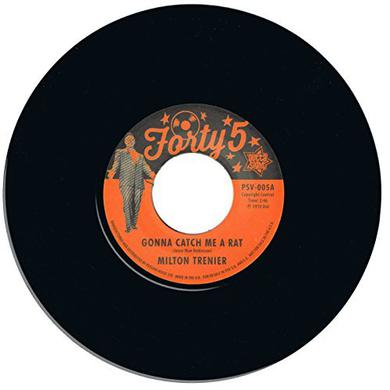 Trenier / Milton Dean Jones GONNA CATCH ME A RAT / ST. JAMES INFIRMARY Vinyl Record