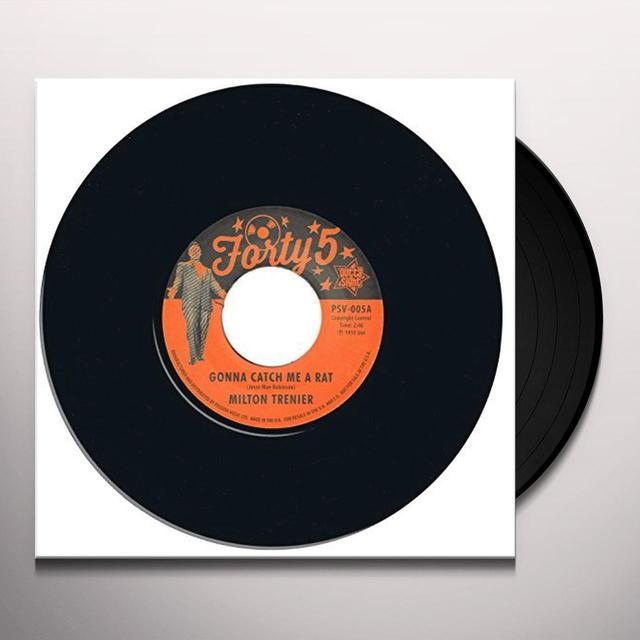 Trenier / Milton Dean Jones GONNA CATCH ME A RAT / ST. JAMES INFIRMARY Vinyl Record - UK Import