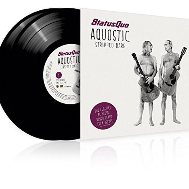 Status Quo AQUOSTIC / STRIPPED BARE Vinyl Record