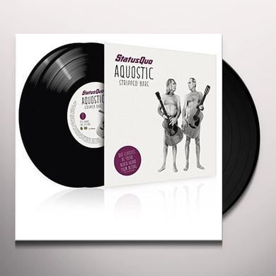 Status Quo AQUOSTIC / STRIPPED BARE (GER) Vinyl Record