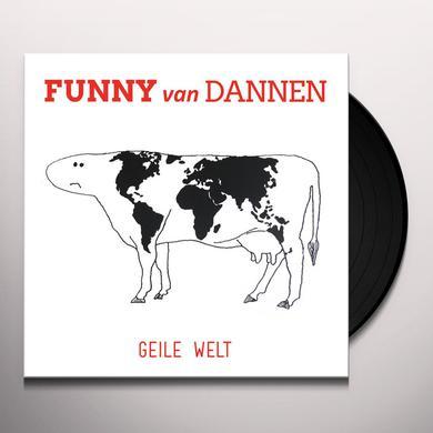 Funny Van Dannen GEILE WELT Vinyl Record