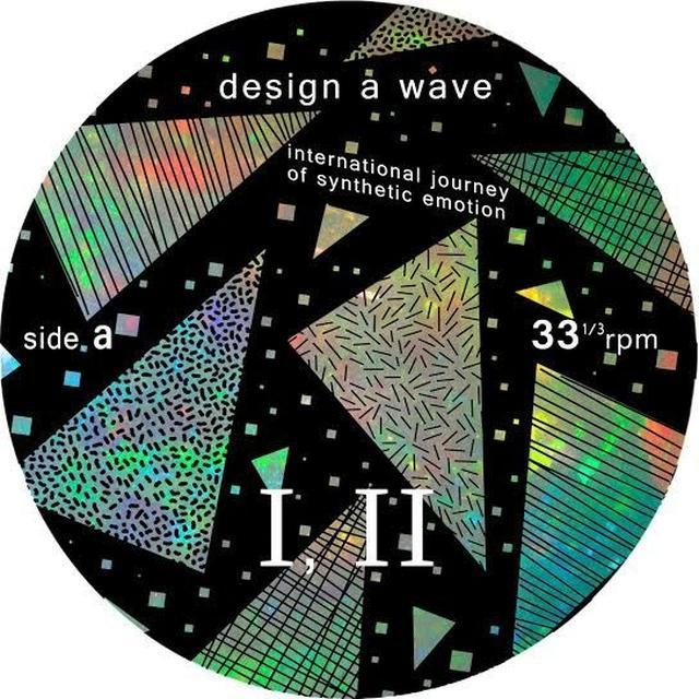 Design A Wave INTERNATIONAL JOURNEY OF SYNTHETIC EMOTION Vinyl Record