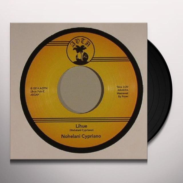 Nohelani Cypriano LIHUE Vinyl Record - UK Import