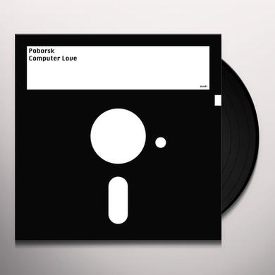 POBORSK COMPUTER LOVE Vinyl Record - UK Release