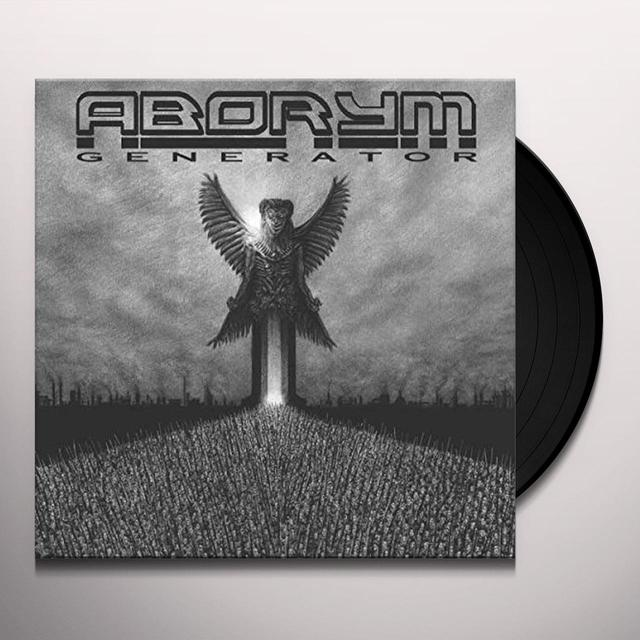 Aborym GENERATOR Vinyl Record - UK Import