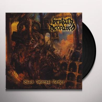 BRUTALLY DECEASED BLACK INFERNAL VORTEX Vinyl Record