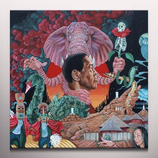 Sonny Simmons & Moksha Samnyasin NOMADIC (ORANGE VINYL) Vinyl Record