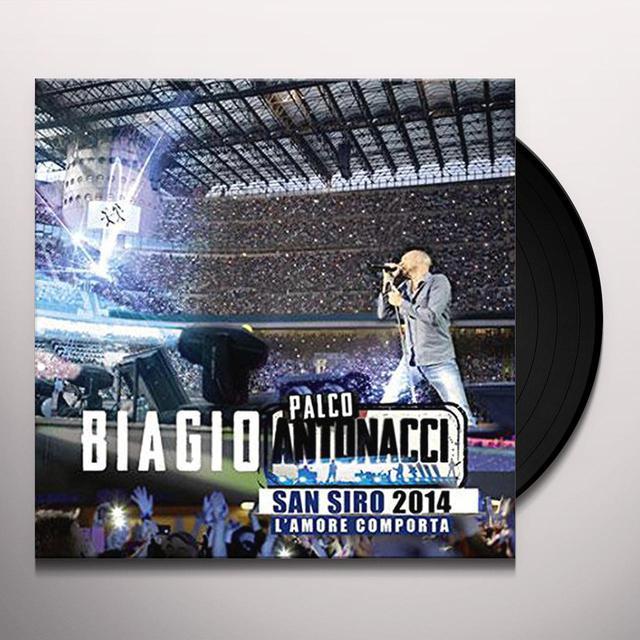 Biagio Antonacci PALCO ANTONACCI-L'AMORE COMPORTA Vinyl Record