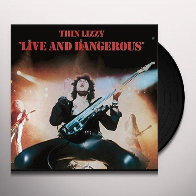Thin Lizzy LIVE & DANGEROUS Vinyl Record