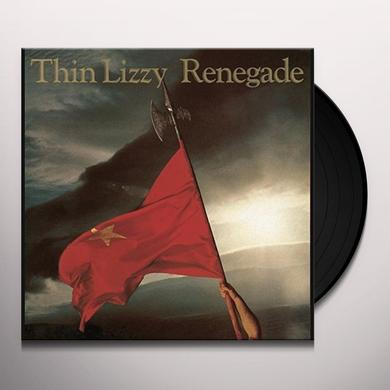 Thin Lizzy RENEGADE Vinyl Record - Holland Import