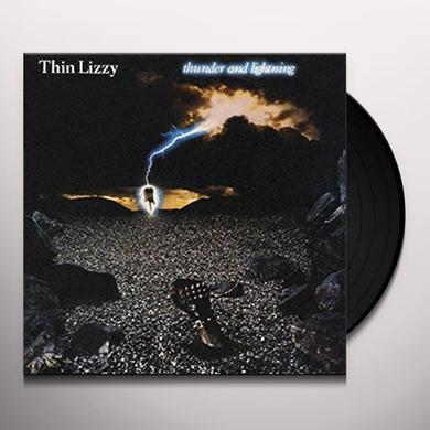 Thin Lizzy THUNDER & LIGHTNING Vinyl Record - UK Import