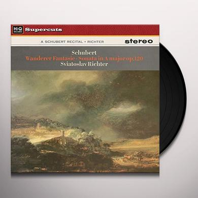 Sviatoslav Richter WANDERER FANTASIE & SONATA IN A MAJOR OP. 120 Vinyl Record