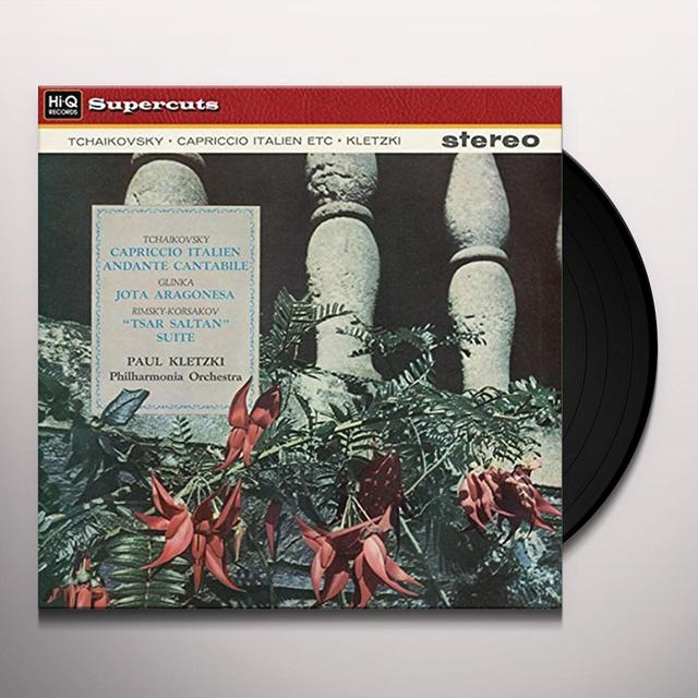 Tchaikovsky / Paul Kletzki & Philharmonia Orch CAPRICCIO ITALIEN OP. 45 & ANDANTE CANTABILE Vinyl Record