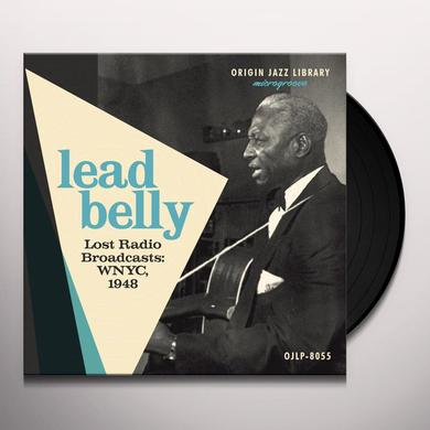 Lead Belly LOST RADIO BROADCASTS: WNYC 1948 Vinyl Record - 10 Inch Single