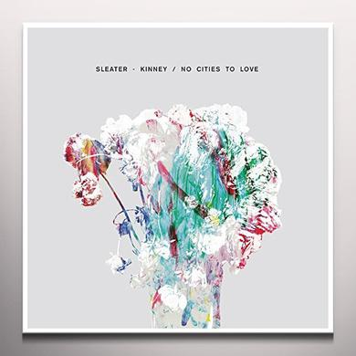 Sleater-Kinney NO CITIES TO LOVE Vinyl Record - Gatefold Sleeve, 180 Gram Pressing, White Vinyl, Deluxe Edition, Poster