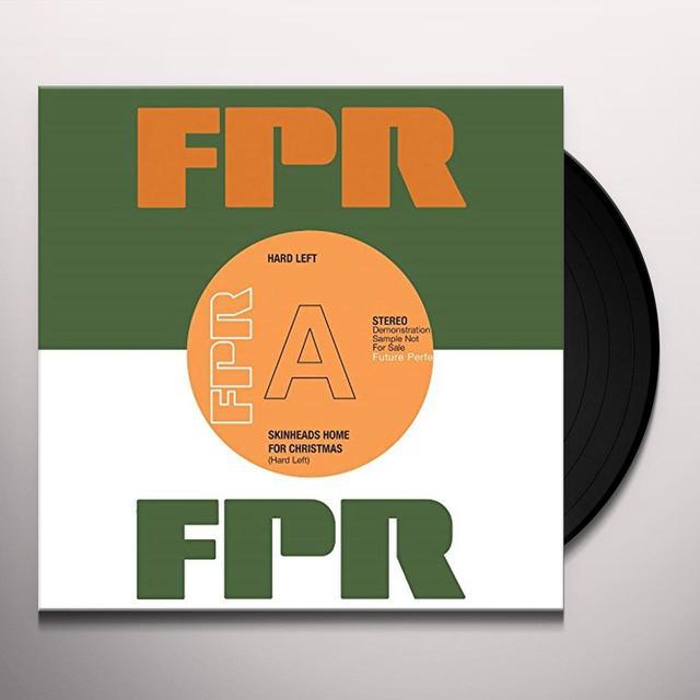 HARD LEFT SKINHEADS HOME FOR CHRISTMAS Vinyl Record - UK Import