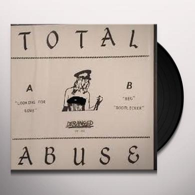 Total Abuse LOOKING FOR LOVE Vinyl Record - UK Import