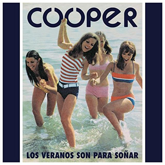 Cooper LOS VERANOS SON PARA SONAR Vinyl Record - Limited Edition, White Vinyl, Digital Download Included