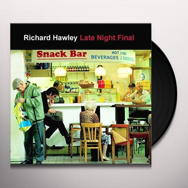 Richard Hawley LET NIGHT FINAL Vinyl Record - UK Release