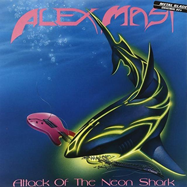 Alex Masi ATTACK OF THE NEON SHARK Vinyl Record