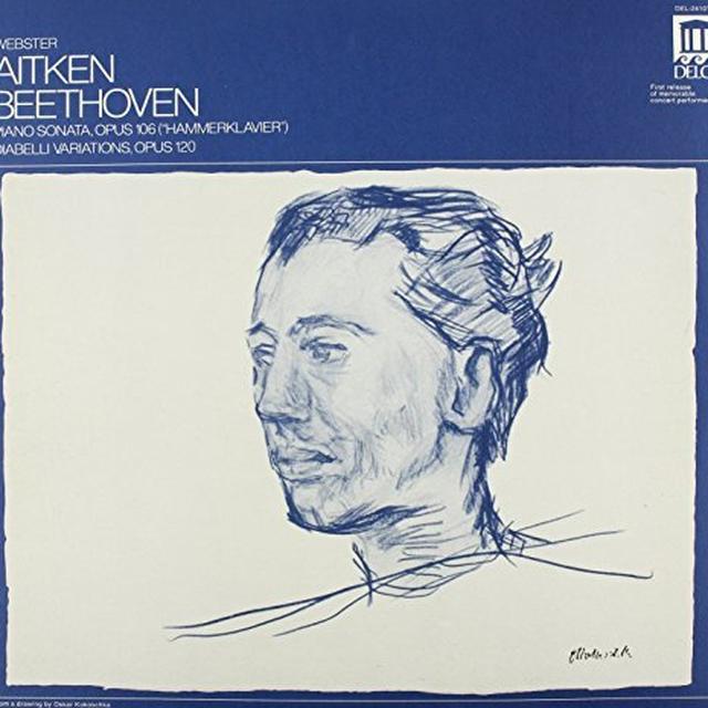 Beethoven / Aiken Webster HAMMERKLAVIER / DIABELLI VARIATIONS Vinyl Record