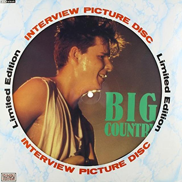 Big Country 80'S INTERVIEW Vinyl Record
