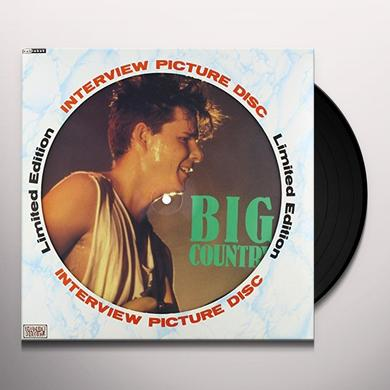Big Country 80'S INTERVIEW Vinyl Record - Picture Disc